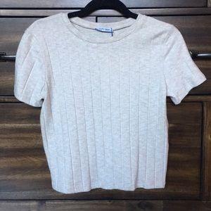 Zara trafaluc size M shirt sweater